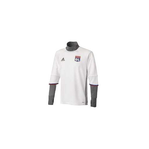 Haut training foot HOMME ADIDAS OL TRG TOP