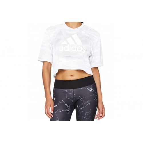Tee-shirt FEMME ADIDAS BOX CROP T AERO