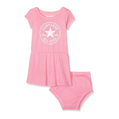 Layette BABY CONVERSE PRINTED DRESS SET