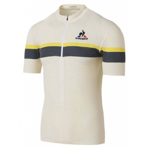 Maillot cycliste HOMME LE COQ SPORTIF MERINO STRIPES JERSEY