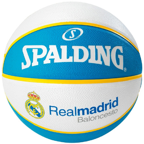 Ballon de basket ACCESSOIRES SPALDING EL TEAM REAL MADRID