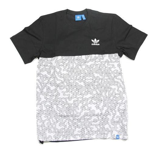 Tee-shirt HOMME ADIDAS STACK TEE AOP