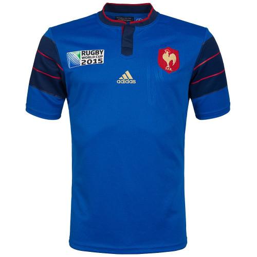 Maillot rugby HOMME ADIDAS FFR RWC H JSY