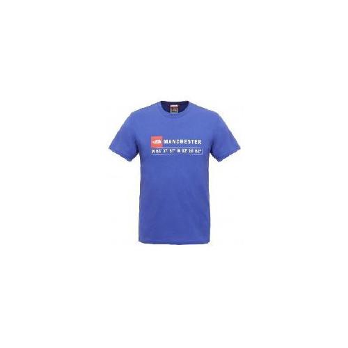 Tee-shirt HOMME THE NORTH FACE M SS MANCHESTER TEE TECH BLUE