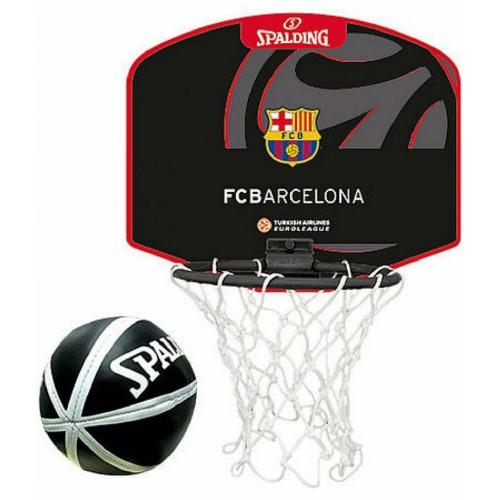 Mini Panier Basket ACCESSOIRES SPALDING EL MINIBOARD FC BARCELONA