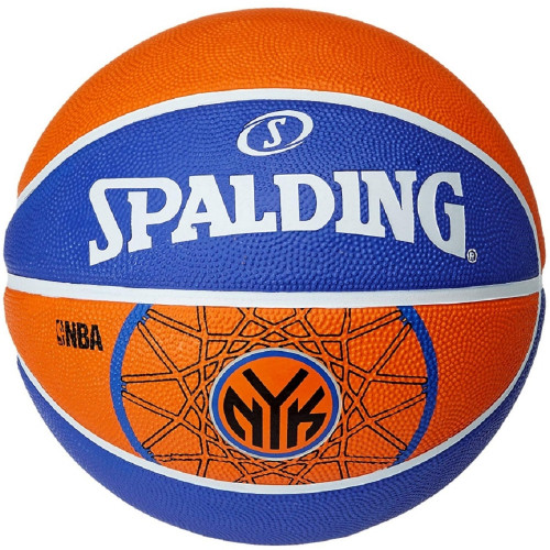 Ballon de basket ACCESSOIRES SPALDING NBA TEAM NY KNICKS T.7