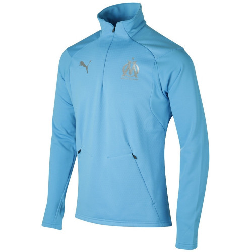 Haut training foot HOMME PUMA OM TRAINING FLEECE