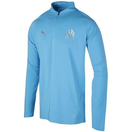 Haut training foot ENFANT PUMA OM 1.4 ZIP TOP KID