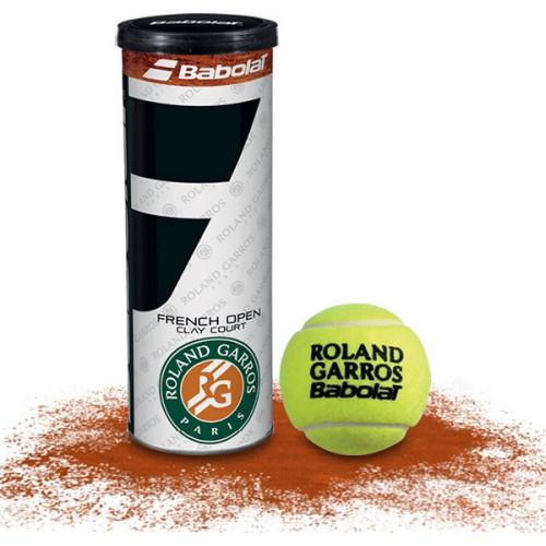Balle de tennis ACCESSOIRES BABOLAT BALL RG FO TOURNAM X3