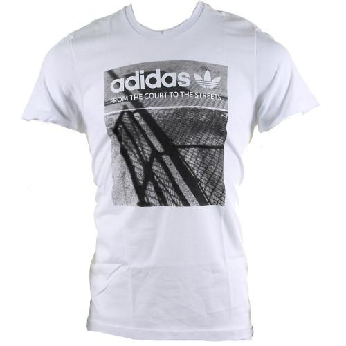 Tee-shirt HOMME ADIDAS G COURT