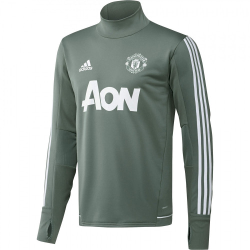 Haut training foot ENFANT ADIDAS MUFC TRG TOP Y