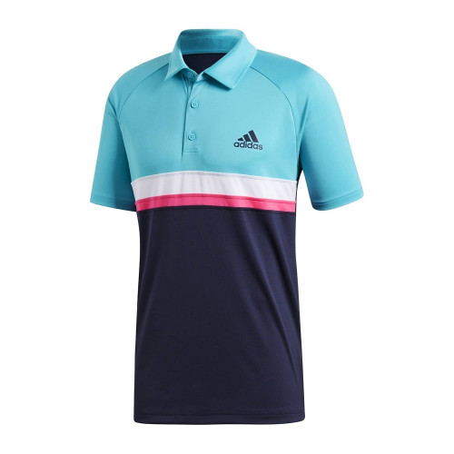 Polo HOMME ADIDAS CLUB COLOR BLOCK POLO