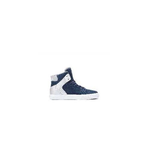 Chaussures sportswear ENFANT SUPRA SUPRA VAIDER MIDNIGHT NAVY SILVER