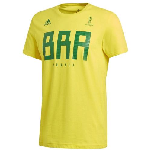 Tee-shirt HOMME ADIDAS BRAZIL MNS
