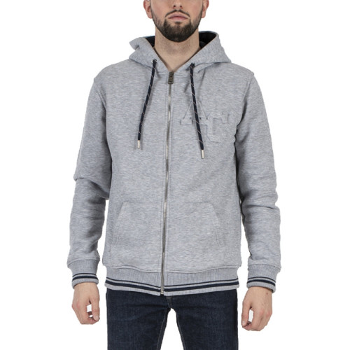 Sweat zippé HOMME AMERICAN COLLEGE HOODIE JACKET EMBOSS