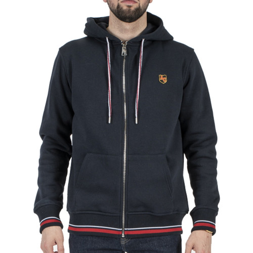 Sweat zippé HOMME AMERICAN COLLEGE FLEECE JACKET ÉCUSSON