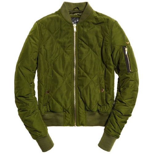 Blouson FEMME SUPERDRY QUILTED UTILITY BOMBER