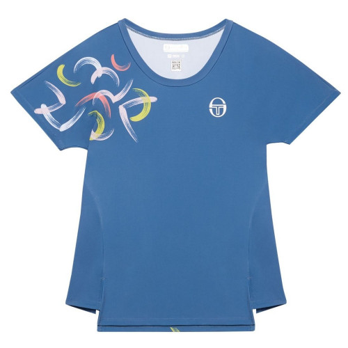 Tee-shirt FEMME SERGIO TACCHINI ABSTRACT T SHIRT