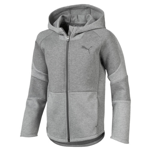 Sweat zippé ENFANT PUMA JR EVOSTRIPE HOODY