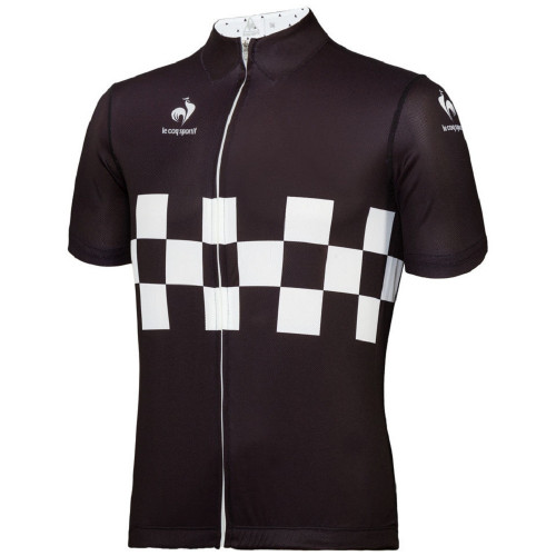 Maillot cycliste HOMME LE COQ SPORTIF CYCLING PERFORMANCE CHECKERED JERSEY