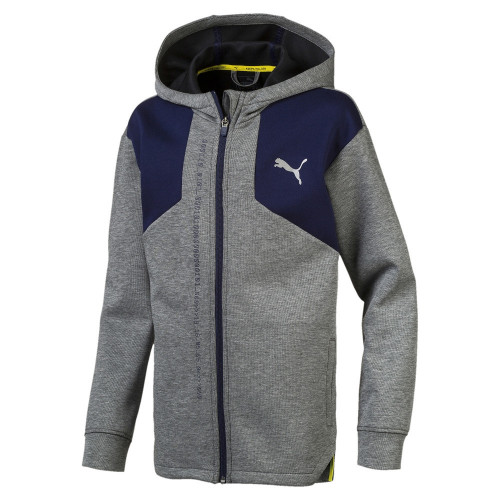 Sweat zippé ENFANT PUMA JR NRJ FZ HOODY