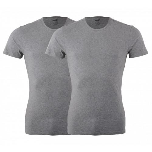 T Shirt Underwear HOMME PUMA PUMA BASIC 2P CREW TEE