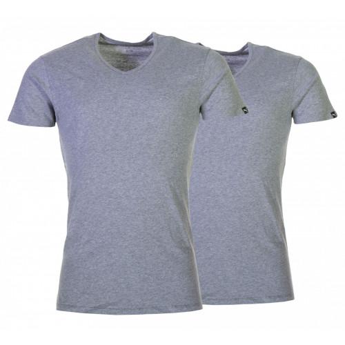 T Shirt Underwear HOMME PUMA PUMA BASIC 2P V NECK