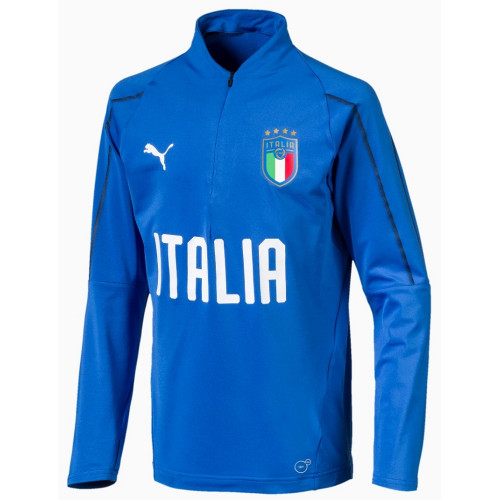 Haut training foot ENFANT PUMA FIGC 1.4 ZIP TRAINING