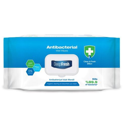 Lingette antibactérienne SANTE Marque divers DEEP FRESH X100