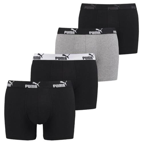 Boxer HOMME PUMA PUMA PROMO SOLID BOXER 4P