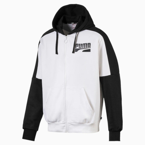 Sweat zippé HOMME PUMA REBEL BLOCK FZ HOODY