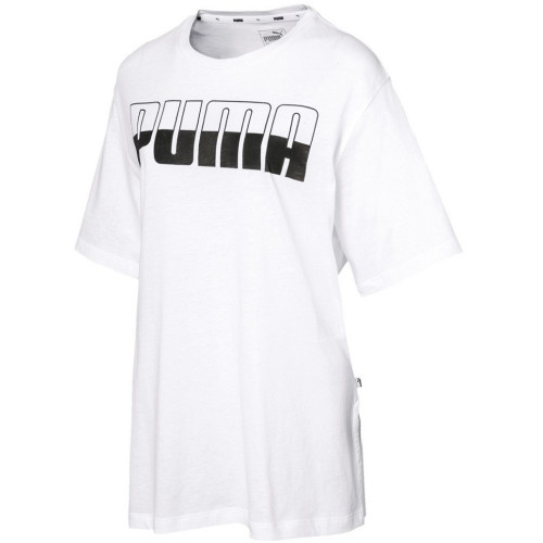 Tee-shirt FEMME PUMA REBEL BOYFRIEND LOGO