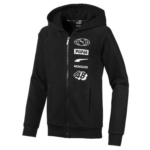 Sweat zippé ENFANT PUMA JR ALPHA FZ HOODY