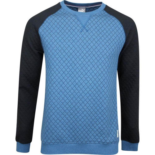 Sweat HOMME PUMA QUILTED CREW