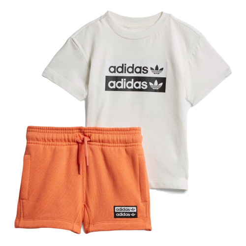 Layette ete BABY ADIDAS ENSEMBLE R.Y.V. SHORTS AND TEE